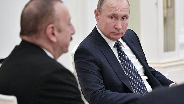 Путин разговарао са Алијевом о ситуацији у Нагорно-Карабаху