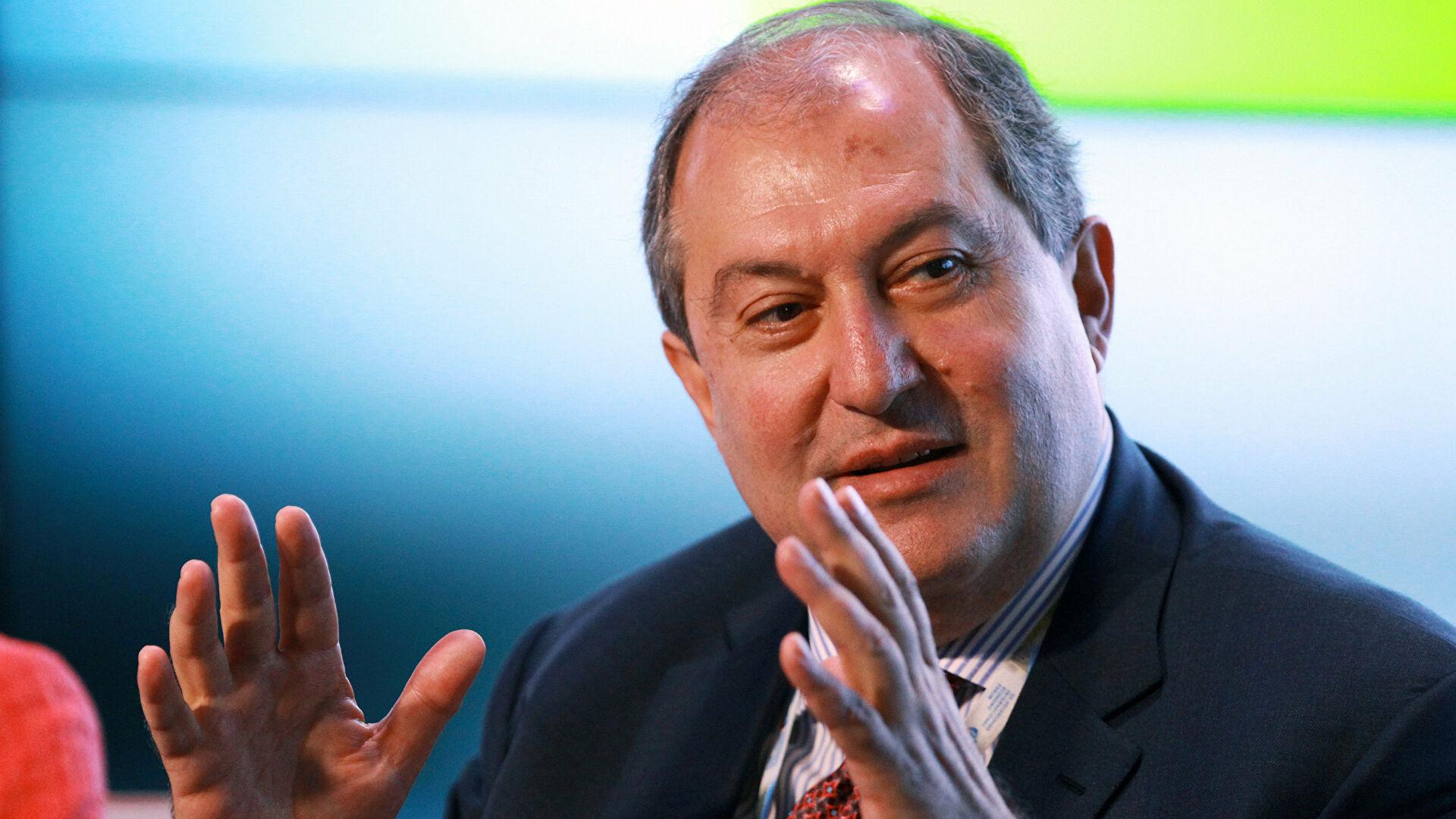 Sarkisjan: Sukob moguće zaustaviti samo ako Turska izađe iz igre