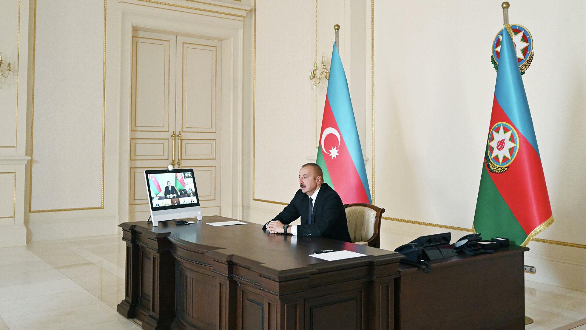 Алијев: Слање мировњака у регион требало би да се изврши на основу одобрења двеју држава - Јерменије и Азербејџана