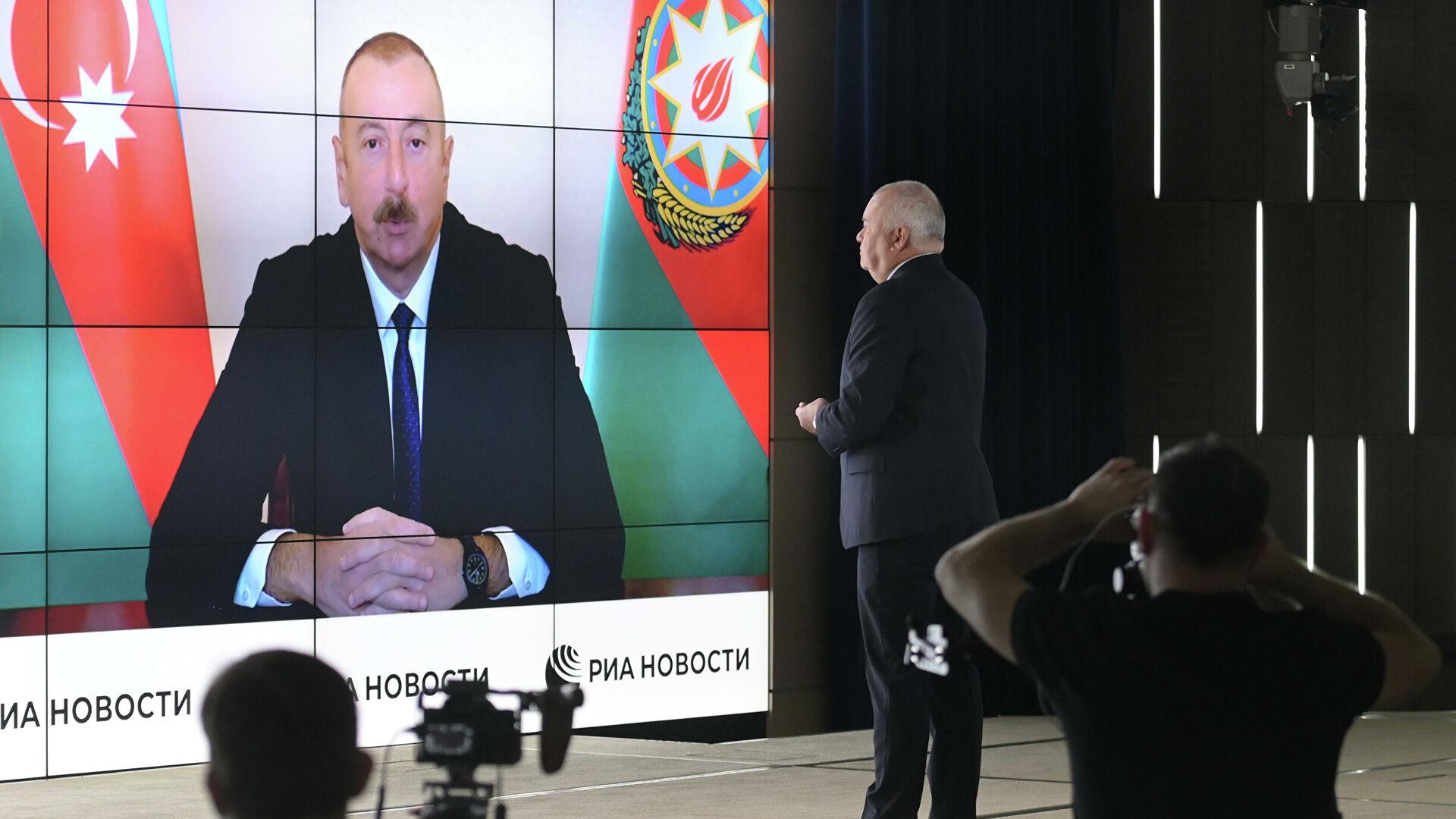 Алијев: Азербејџан ни под којим условима неће дати сагласност за независност Нагорно-Карабаха
