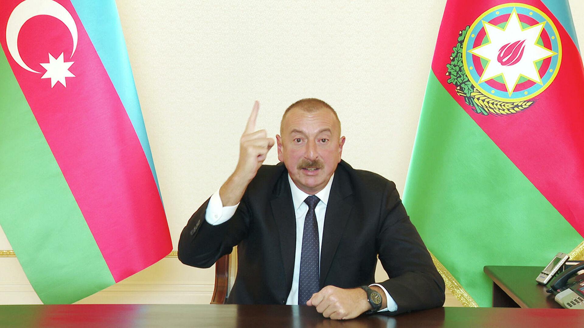 Алијев: Ускоро стићи одговор у виду одмазде на фронту