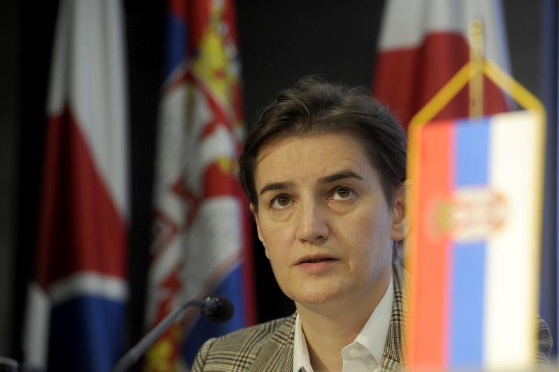 Брнабић саопштила имена министара у новој Влади Србије