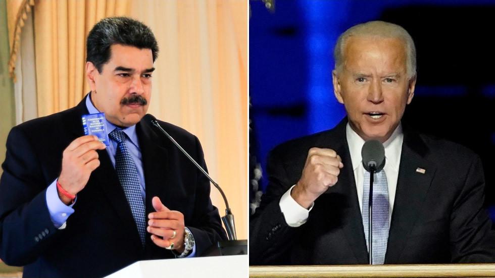 """RT: """"Tramp je ostavio minsko polje između SAD-a i Venecuele"""": Maduro spreman da """"sarađuje"""" sa Bajdenom na popravljanju odnosa"""