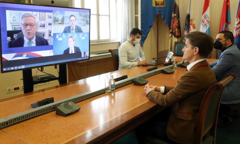 Брнабић: Чланство у ЕУ остаје приоритет за Србију