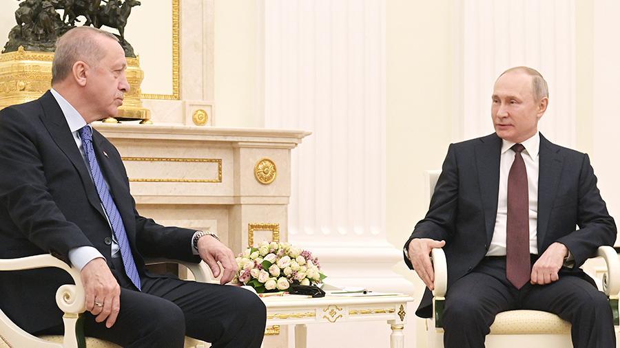 Путин и Ердоган разговарали о ситуацији у Нагорном Карабаху, Либији и Сирији