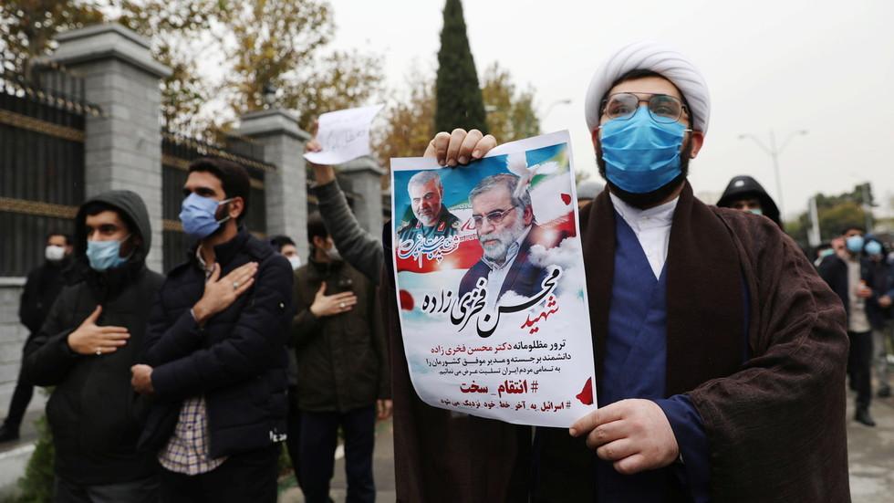 """РТ: Сирија осудила """"ционистички терористички напад на науку"""", док Израел наводи да """"нема појма"""" ко стоји иза убиства иранског научника"""