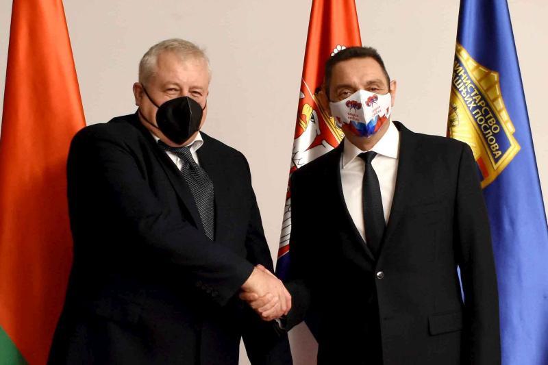 Наставак сарадње са Белорусијом у области унутрашњих послова
