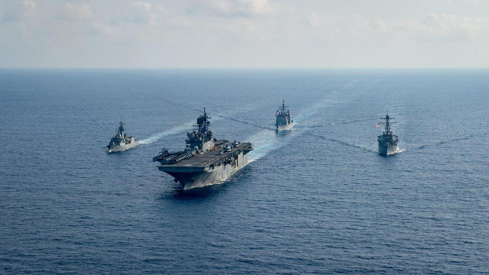 """RT: Peking saopštio da američka vojska u Južnom kineskom moru """"nije pogodna za mir"""", te poziva na preispitivanje politike Vašingtona prema Tajvanu"""