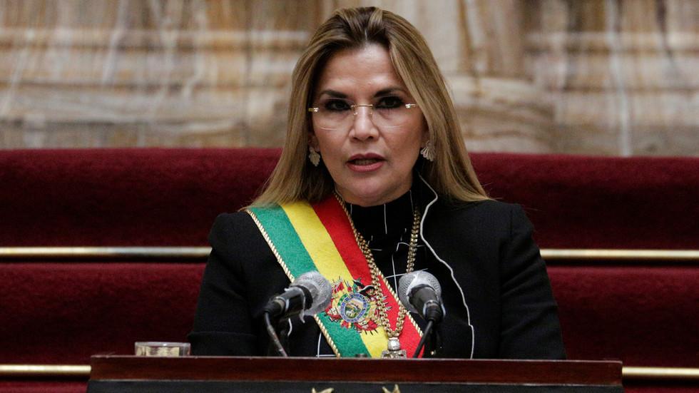 РТ: Бивши привремени председник Боливије Жанин Ањес ухапшена због пуча 2019. године
