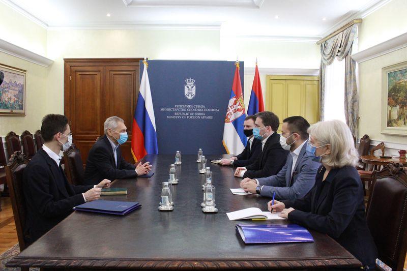 Изузетан значај стратешког партнерства Србије и Руске Федерације