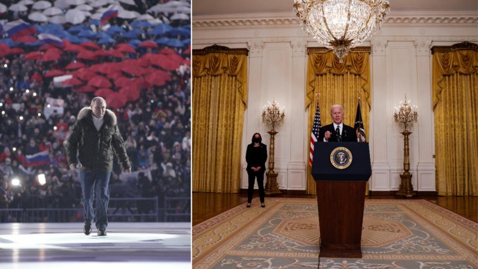 """RT: """"Bajden je prilično zauzet"""", kaže portparol Bele kuće nakon što je Putin izazvao američkog lidera na diskusiju uživo"""