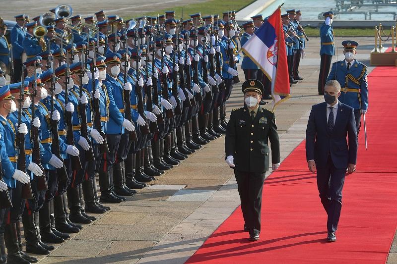 Srbija čvrsto podržava politiku jedne Kine