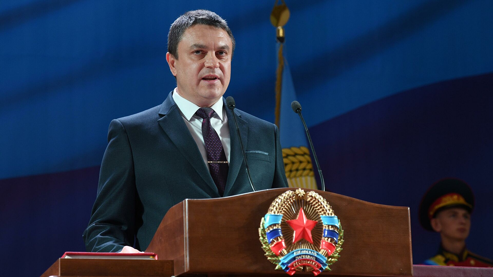 Не сумњам да ће Донбас постати део велике Русије кад за то дође време - председник ЛНР-а