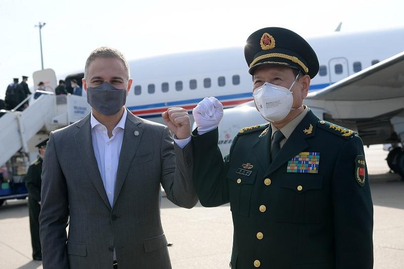 Завршена посета министра одбране НР Кине генерала Веи Фенгхеа Србији