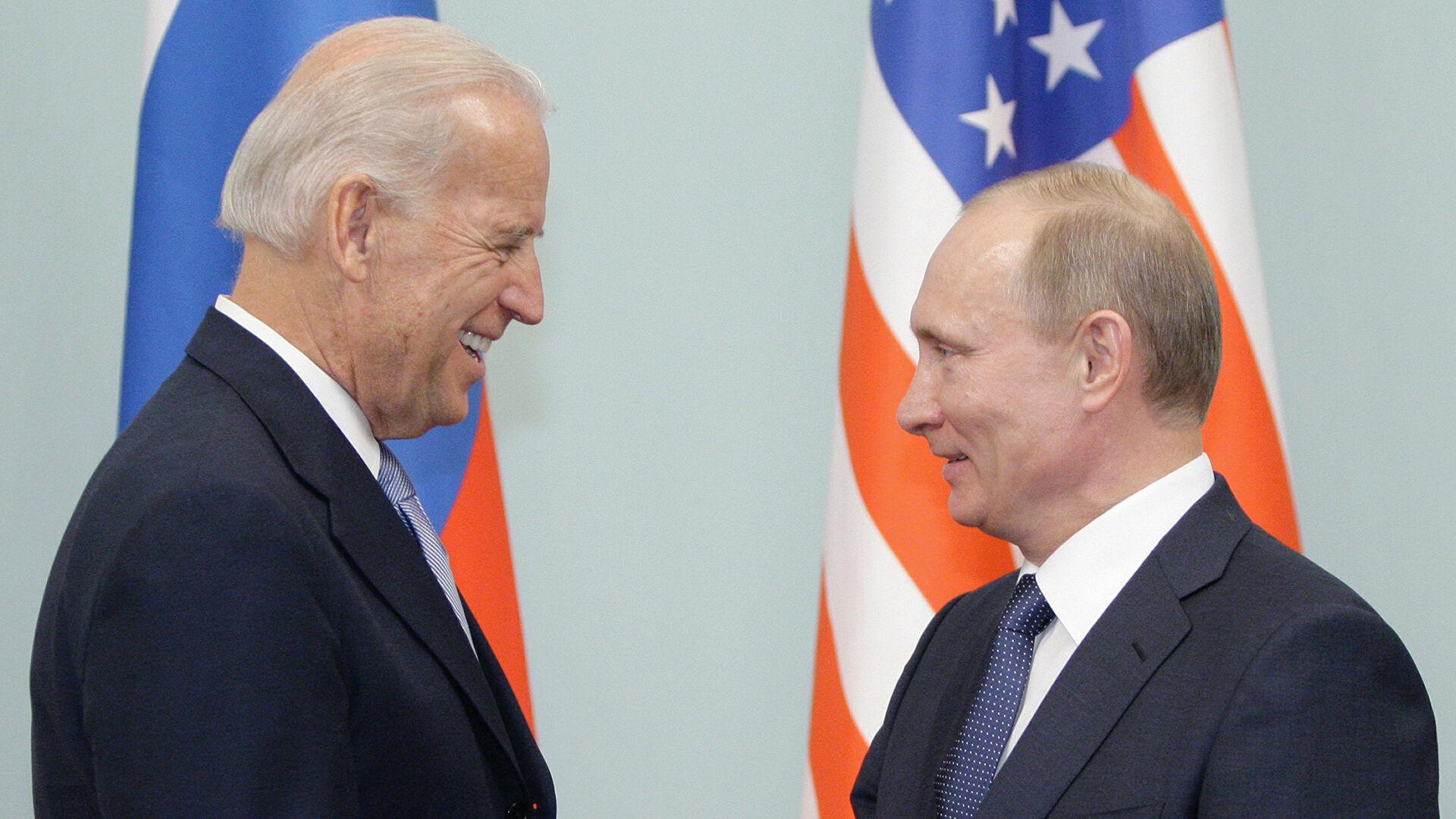 Сусрет Путина и Бајдена највероватније у јуну