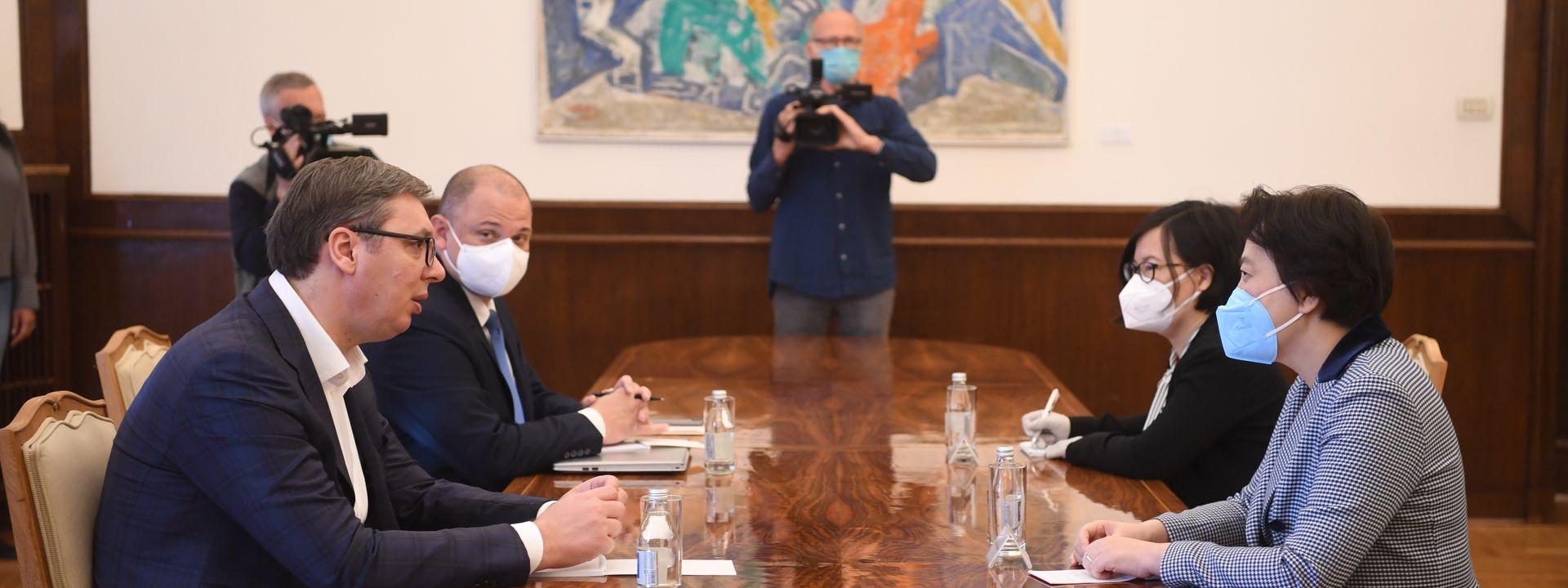 Сарадња Србије и Кине наставиће се још интензивнијим темпом