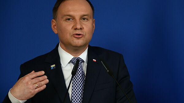 Poljski predsednik: Krim i Donbas je okupirala Rusija