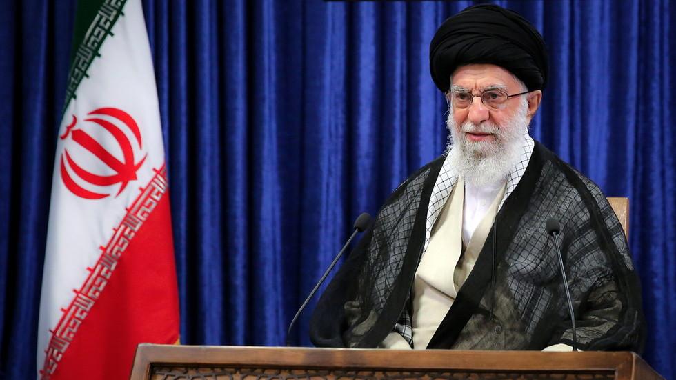 """РТ: """"Израел није земља, већ терористички камп"""", каже ирански лидер Хамнеи"""