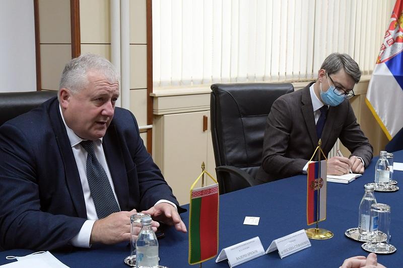 Белорусија ће пружати подршку Србији у очувању територијалног интегритета