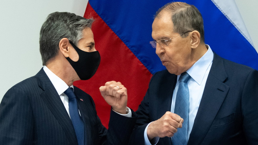 """РТ: Разговор Лаврова и Блинкена """"конструктиван"""": Разговарано о ситуацији на руско-украјинској граници и поступању са америчким државним медијима"""