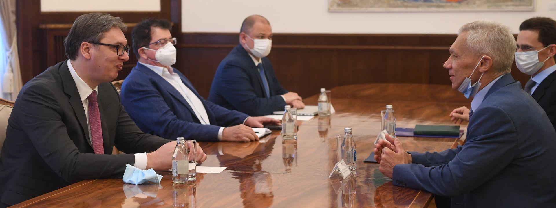 Боцан-Харченко потврдио активну подршку Русије у одбрани територијалног интегритета Србије