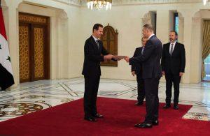 Башар Асад примио акредитив амбасадора Републике Србије