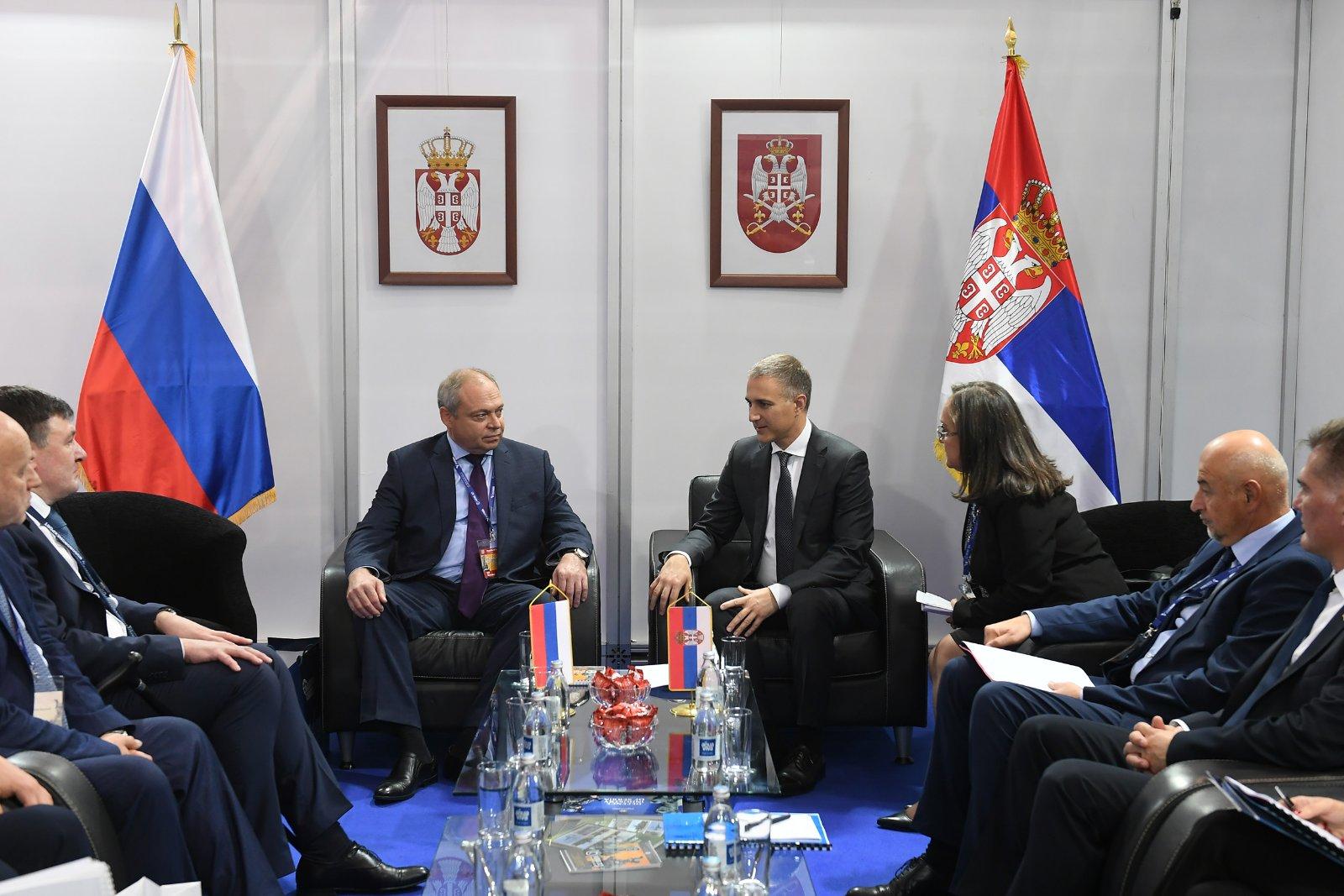 Бојцов: Односи Русије и Срнбије у области одбране на изузетном нивоу