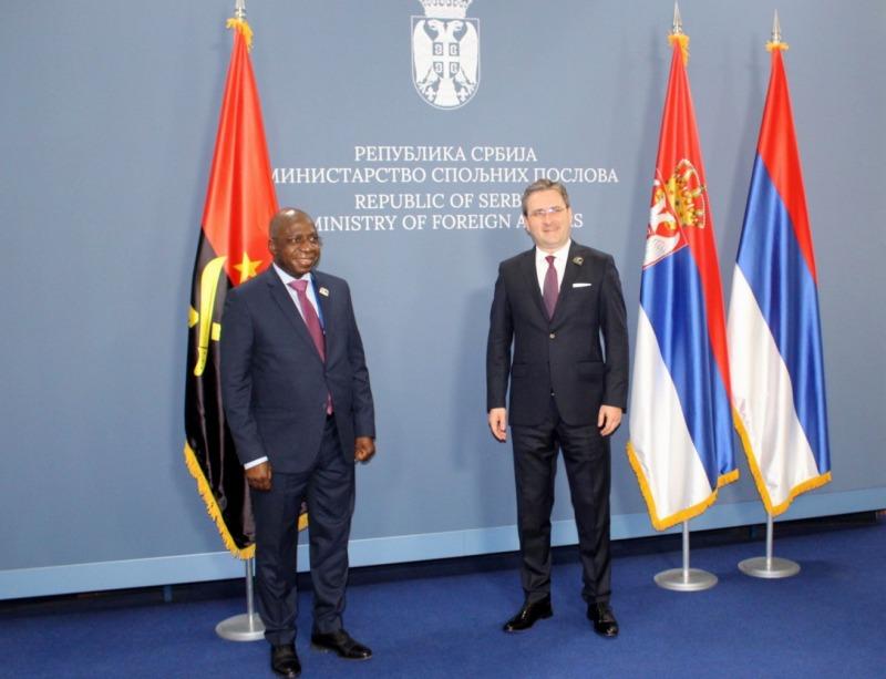 Захвалност Анголи на чврстом ставу по питању Космета