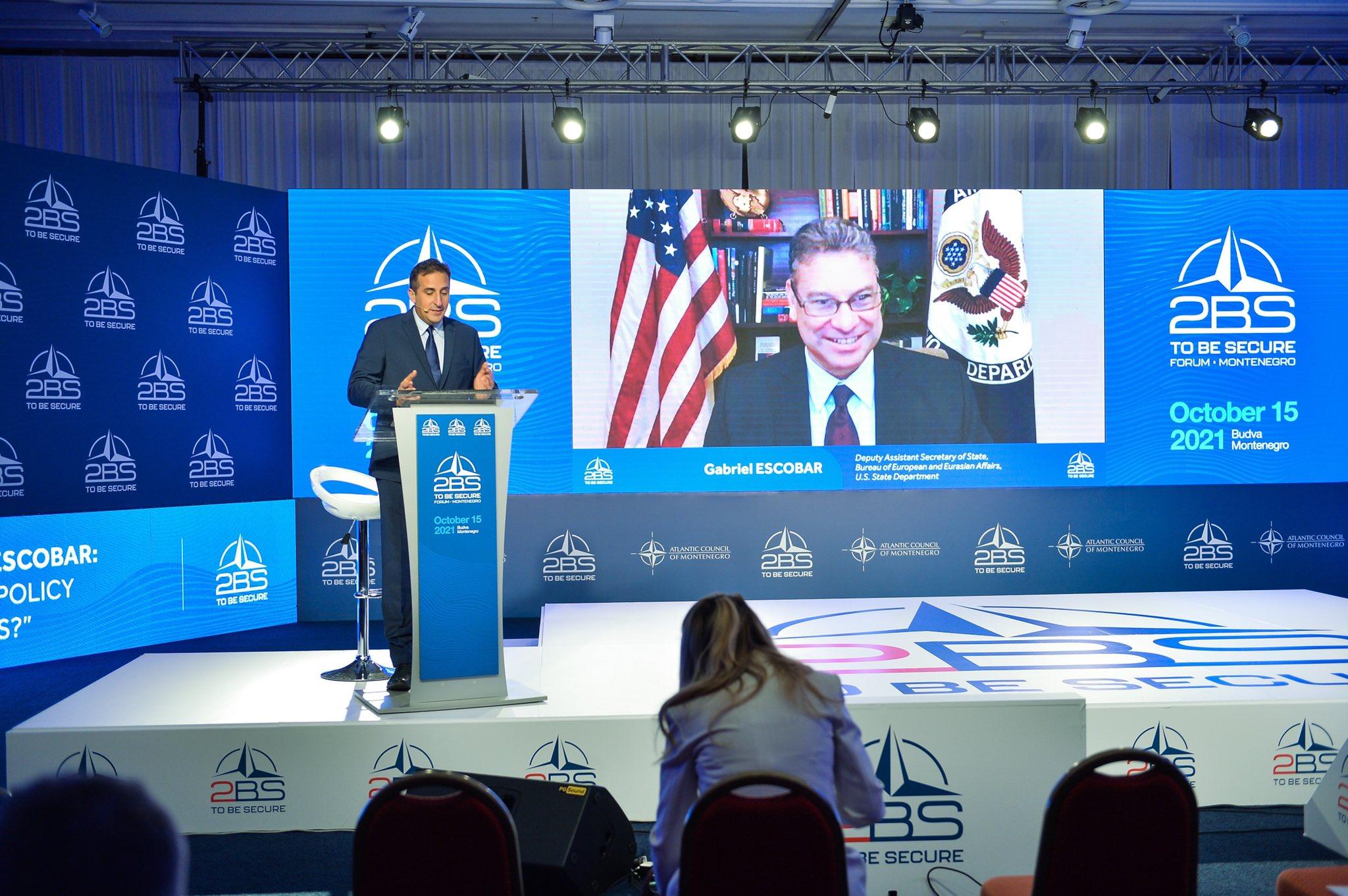 САД: Просрпске снаге би требале схватити да Црна Гора мора бити демократска, независна, суверена и западно оријентисана, те остати дио НАТО-