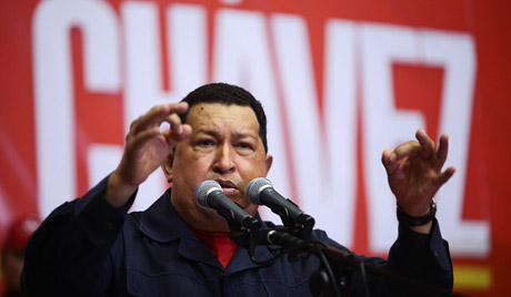 У здравственом стању Чавеса приметан