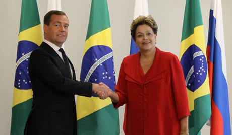 Медведев се састао с председницом Бразила