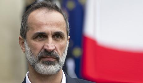 Лидер сиријске опозиције поднео оставку