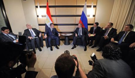 Мурси заинтересован за руски гас