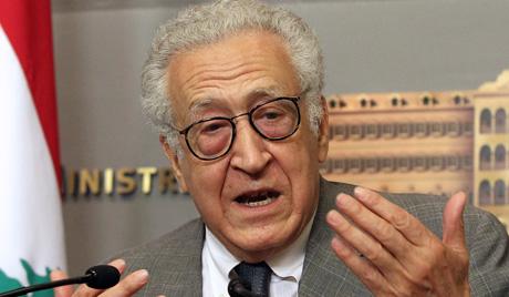 Брахими разочаран односом Арапске лиге према сиријској кризи