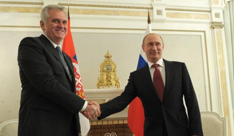 Predsednik Srbije na sastanku sa Putinom izrazio zahvalnost Rusiji zbog stava o Kosovu