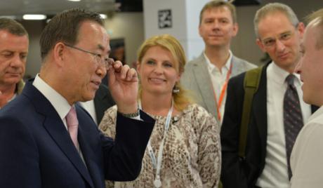 Генерални секретар УН Бан Ки Мун се противи испорукама оружја учесницима конфликта у Сирији