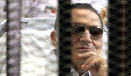 Мубарак на страни каирских демонстраната