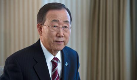 Бан Ки Мун затражио да се успостави цивилна власт у Египту