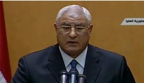 """Мансур позвао """"Муслиманску браћу"""" да учествују у животу земље"""