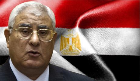 Египатска ратна авијација показала ваздушни шоу у част привременог председника