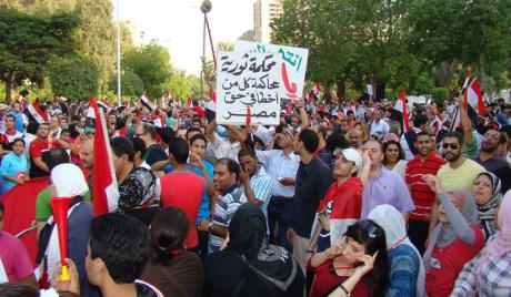 Египатски војни врх обећао да неће применити силу против демонстраната