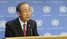 Бан Ки Мун: Коришћене хемијског оружја у Сирији је ратни злочин