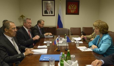 Лавров и Ештонова разговарали о Ирану