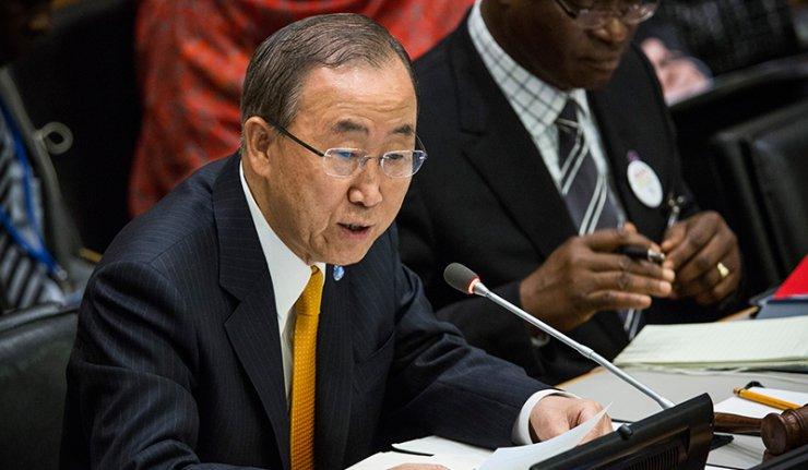 Бан Ки Мун позвао на мир у Украјини и поштовање минског договора