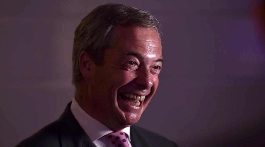 Британија напушта ЕУ, Фараж прогласио победу
