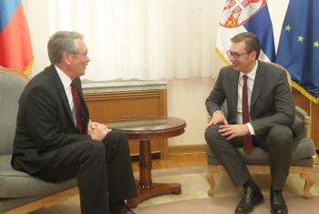 Чепурин и Вучић разговарали о свеукупним србско-руским односима