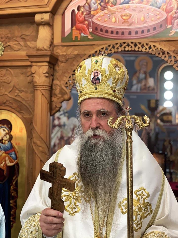 Епископ Јоаникије критиковао рад појединих здравствених служби у Црној Гори, оцјењујући да је у медицину ушла политика