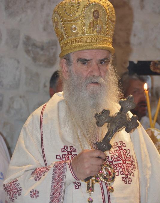 Митрополит Амфилохије: Они који су надахнути духом убица Архиђакона Стефана, прогоне данас Цркву у Црној Гори