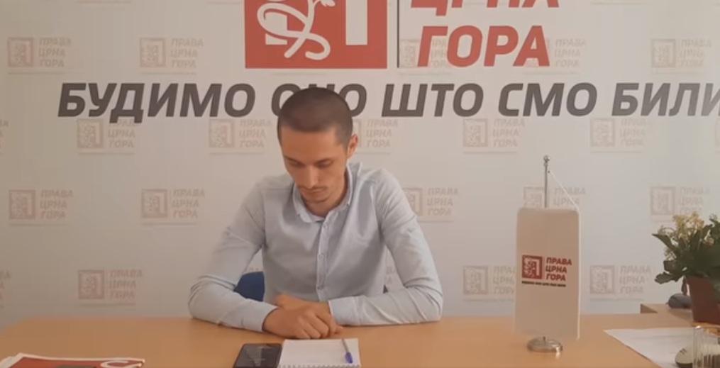 Права Црна Гора: Погледајте како Милов активиста откупљује личне карте