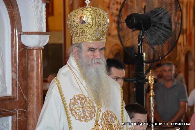 Митрополит Амфилохије: Изађите на изборе и гласајте за светиње Божије, против безаконика и безаконих закона